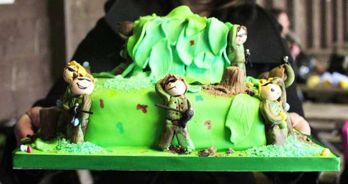 Celebrate a paintballing birthday in style by bringing along your own birthday cake.