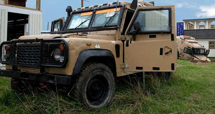 Secure this convoy of ex military jeeps.