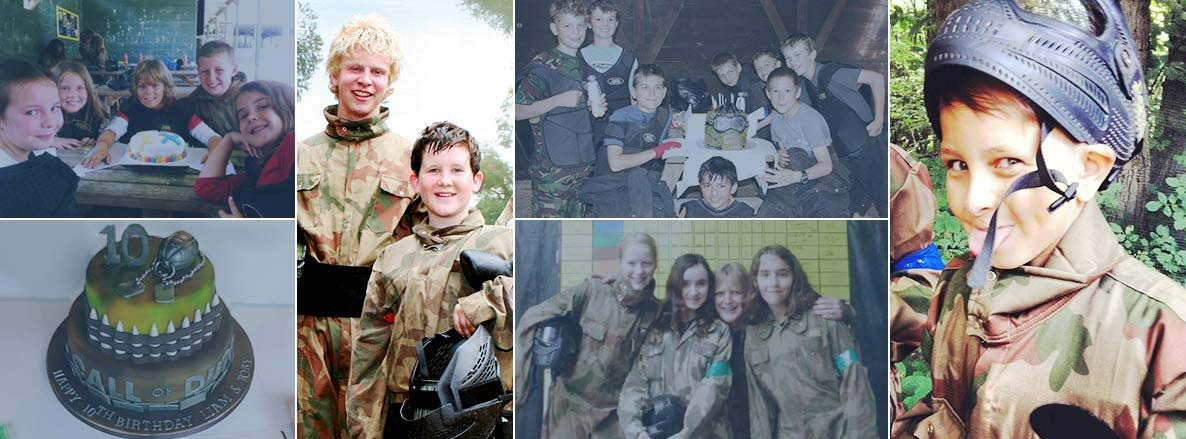 Kids Birthday Paintballing Events