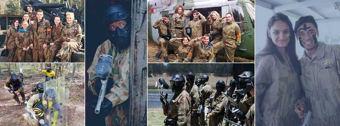 Corporate Paintballing Experience